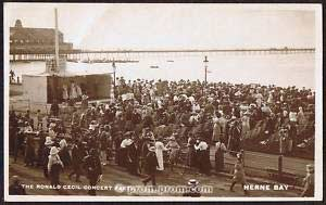 Ronald Cecil Concert Party Herne Bay 1918