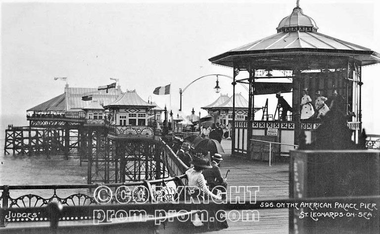 St. Leonards-on-Sea Pierrots on the American Palace Pier 1910