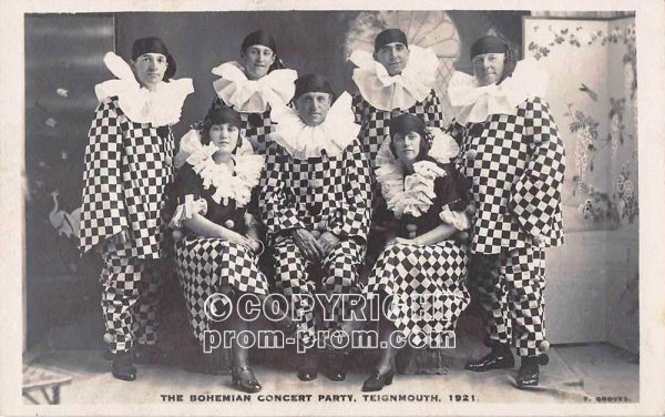 The Bohemian Concert Party Teignmouth 1921