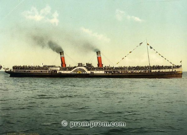 The Koh-i-Noor paddle steamer Clacton