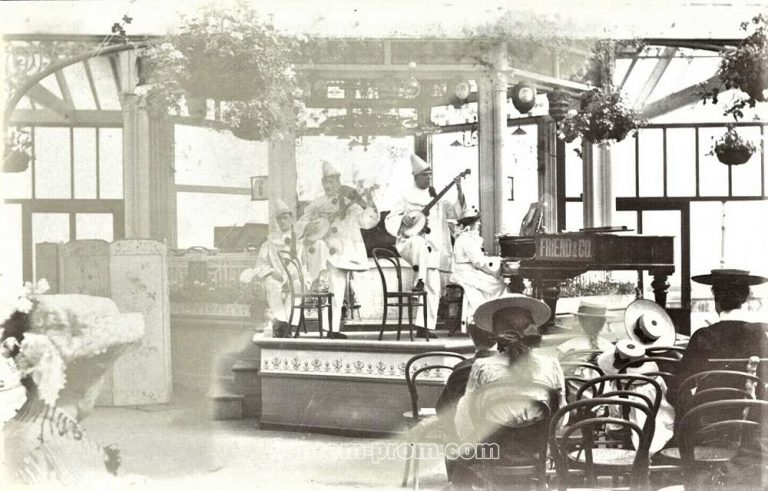 The London Pierrot Team with Catlin TBC Bridlington 1904