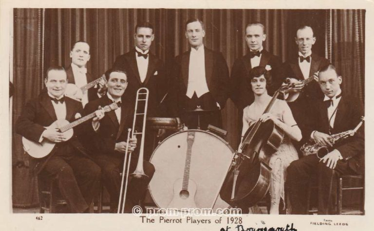 The Pierrot players of 1928, Bournemouth