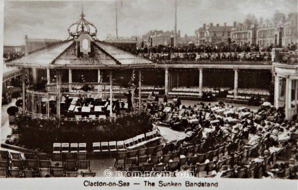 The Sunken Bandstand Clacton