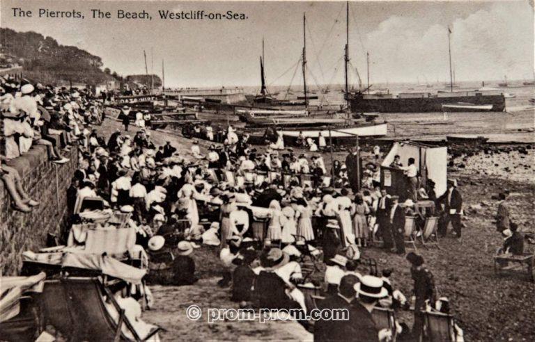 The pierrots Westcliff-on-Sea, Southend