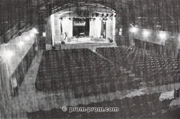 West Cliff Theatre auditorium Clacton 1992