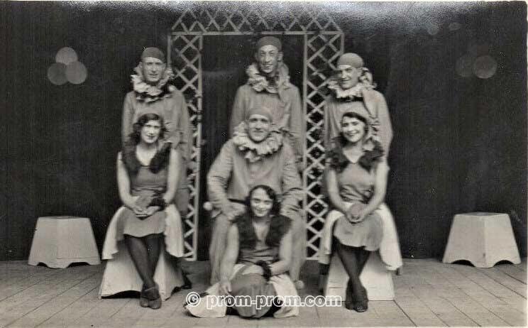 Norman Walters Vaudesques Pierrots 1936, Weymouth Dorset