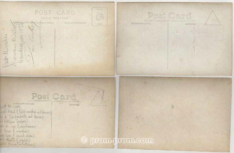 Norman Walters Vaudesques Pierrots 1936, Weymouth Dorset postcards
