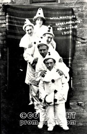Will Frohman's Royal Pierrots Newbiggin 1907