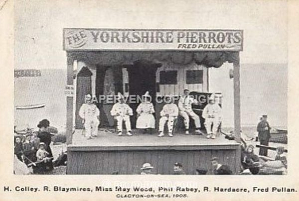 Yorkshire Pierrots with names 1905