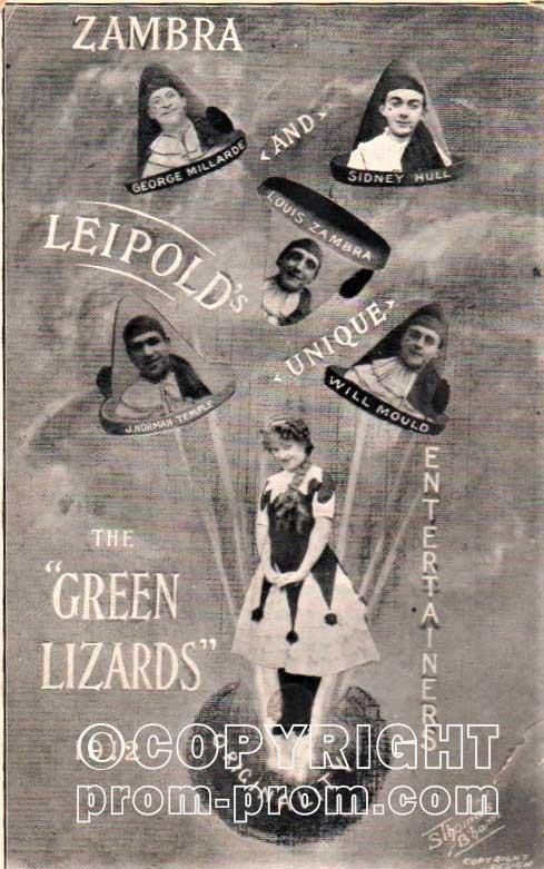 Zambra's Colwick Hall Pierrots The Green Lizards 1912