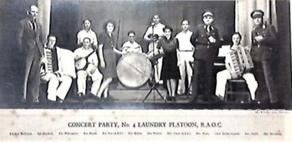 Concert Party, No. 4 Laundry Platoon, R.A.O.C.