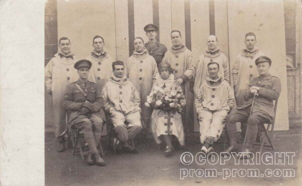The Concerteers - XV Corps Heavy Artillery Concert Party, 1918 - front