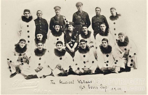The Musical Walads. 1st 6th Essex Regiment. 15.2.1919, Cairo