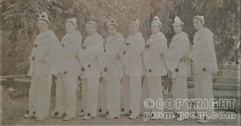 GOLDS PIERROTS CONCERT PARTY, MARGATE, 1908