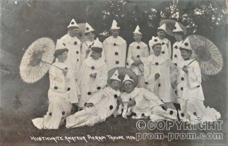 Husthwaite Amateur Pierrot Troupe 1906 - North Yorkshire