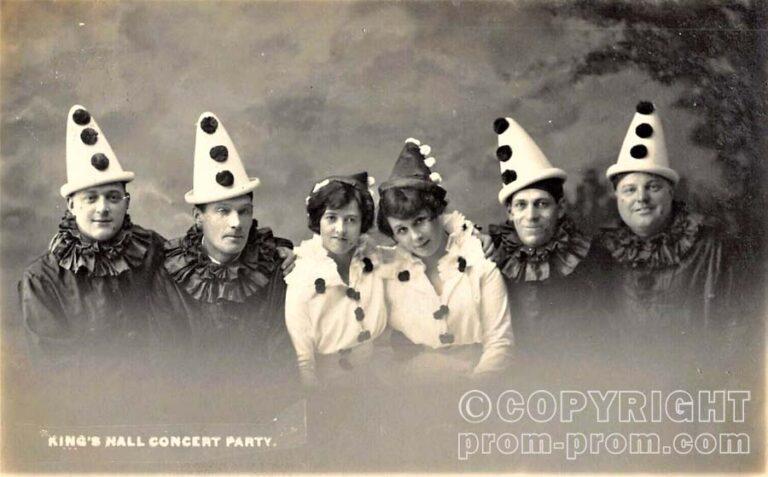 King's Hall Concert Party, Herne Bay, Kent,1914