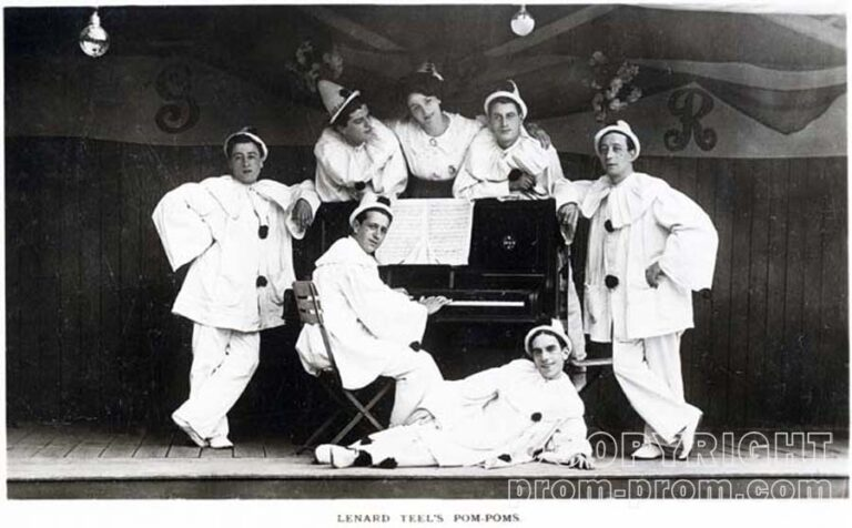 Leonard Teel's Pom-Poms, Littlehampton TBC - The Rucker Archive