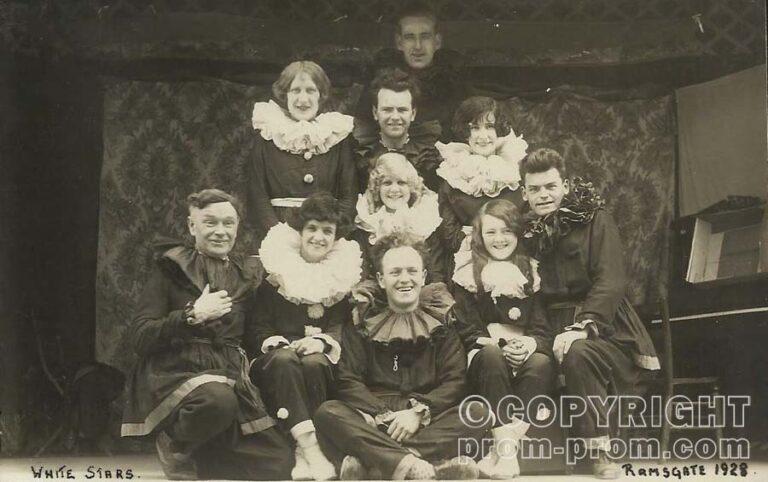 Ramsgate. White Stars Pierrots, 1928