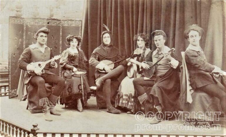 THE VAGABONDS CONCERT PARTY, BRIDLINGTON