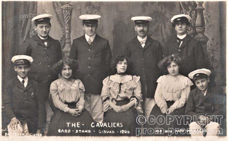 The Cavaliers, Bandstand, Girvan, 1906