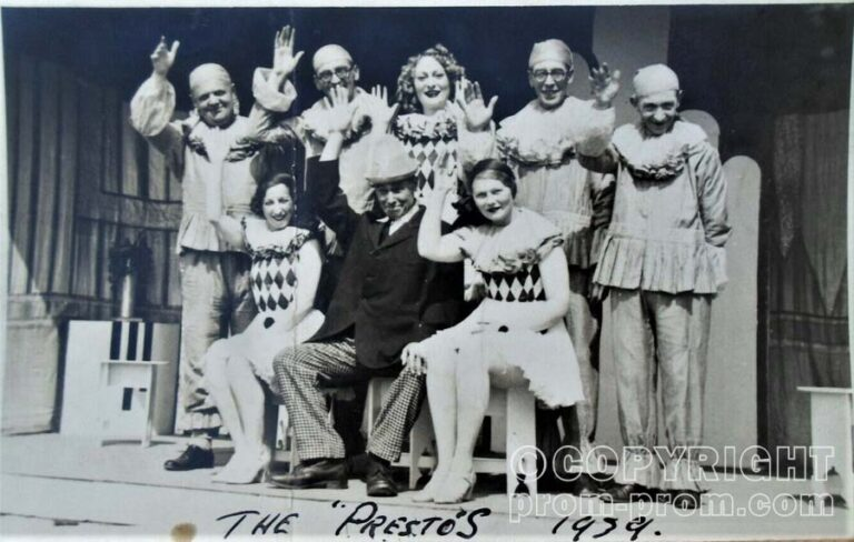The Presto's, Mablethorpe 1939