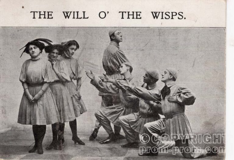 The Will O' The Wisps, Isle of Wight, Shanklin