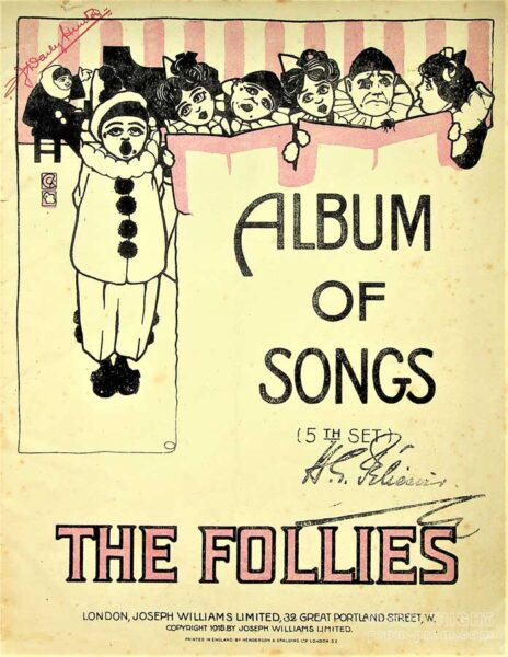 'Album of Songs' by The Follies, 1912