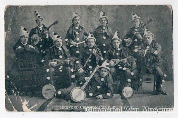 BEDFORD CRIMSON PIERROTS,BANJO & MANDOLIN PLAYERS,1905