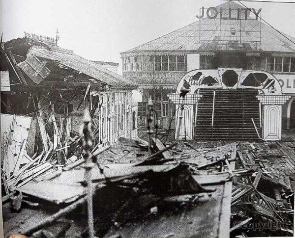 Clacton Pier - mine. Clacton History Society archives