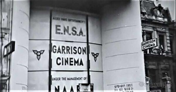ENSA at a Garrison Theatre