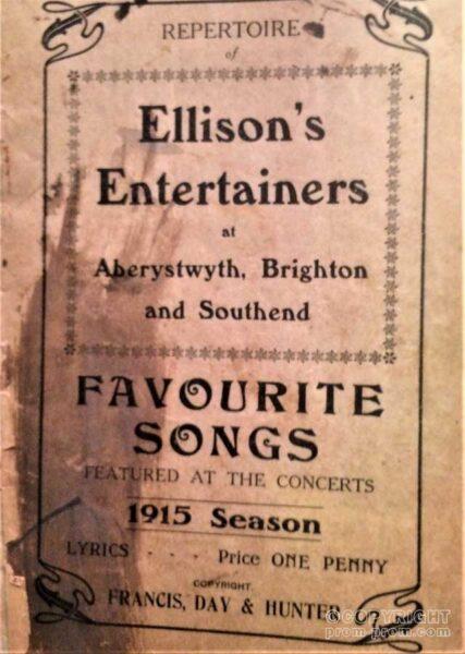 Ellison's Entertainers Favourite songs