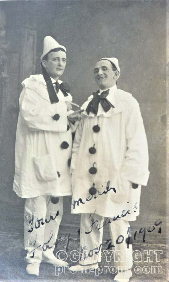 FOLAY & FRANCIS, PIERROT VILLAGE, Douglas, Isle of Man, 1909