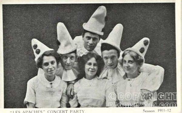 Les Apaches Concert Party, 1911-12