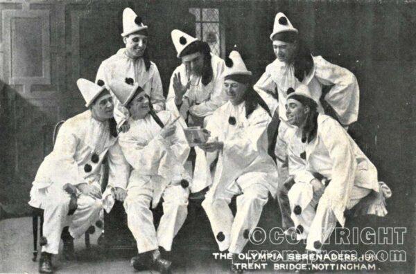 Nottingham Olympia Serenaders 1911 Trent Bridge