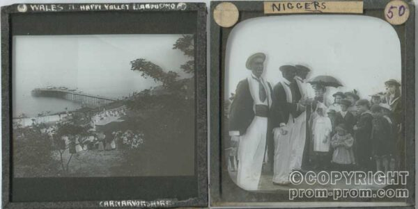 Original lantern slide images from Lester Smith