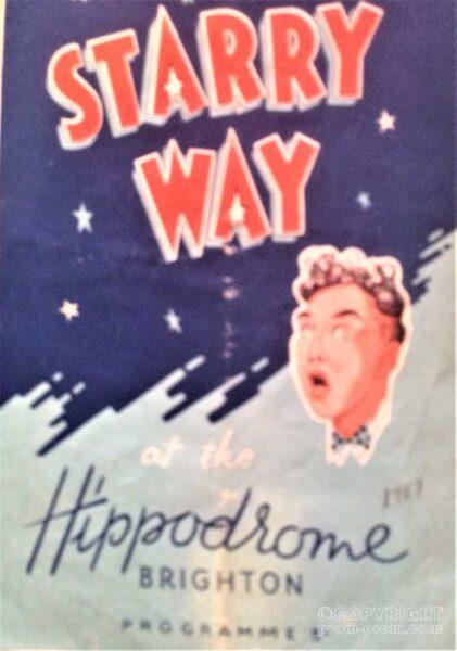 Programme Starry Way Hippodrome Brighton