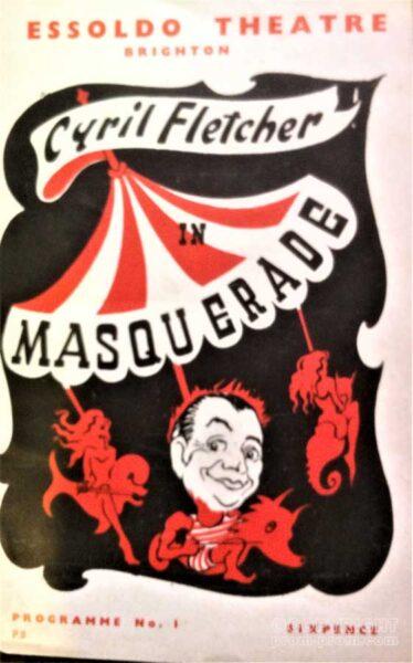 Progrramme Masquerade Essoldo Theatre Brighton