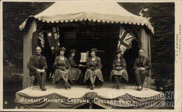 Scarlet Mascots' Costume Concert Party - around Bristol area (TBC)