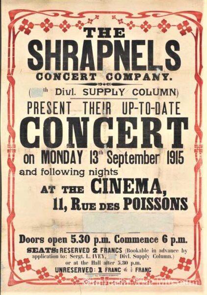 Shrapnels Poster 1a IWM archives