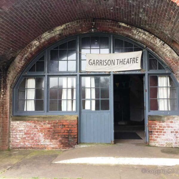 The Garrison Theatre at Hurst Castle (still functioning today)