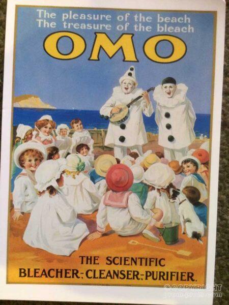 Postcard - The treaure of the bleach OMO