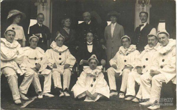 circa 1912 - possibly on Carpathia (survivors of Titanic), uncorroborated