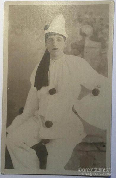 Bert Walker - Catlin's troupe, 1904