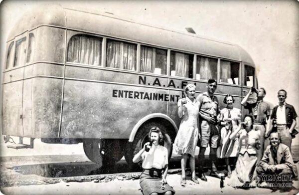 ENSA on tour - 2nd WW