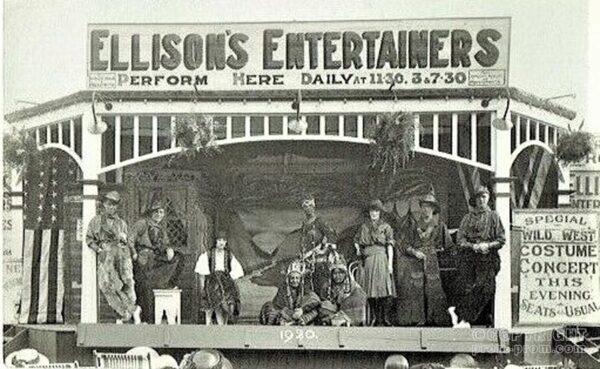 Ellison's Entertainers, 1920 - Aberystwyth TBC (2)