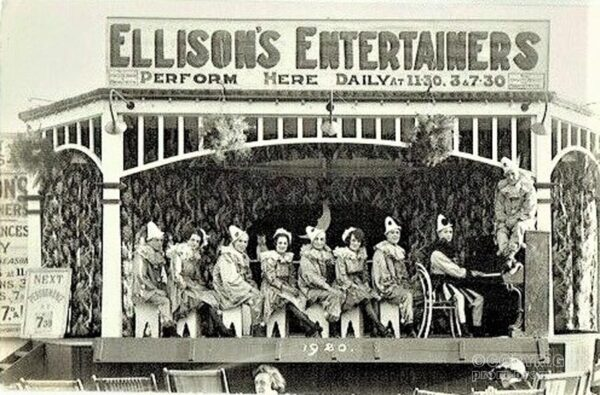 Ellison's Entertainers, 1920 - Aberystwyth TBC (3)