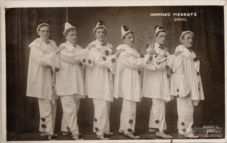 Hampson's Pierrots, Girvan, 1907