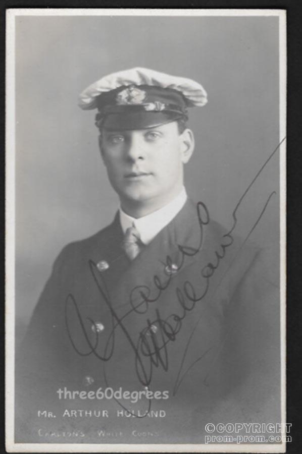 Mr Arthur Holland. Carlton's White Coons, St Anne's