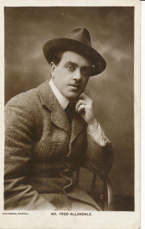 Mr. Fred Allandale. Prothoroe, Blackpool 1912
