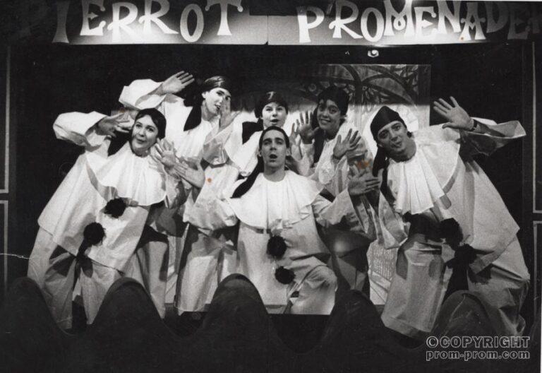 The Pierrot Promenaders, Isle of Wight, 1990